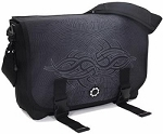 DadGear Messenger Diaper Bag - Maori Night
