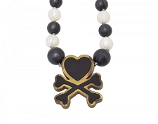 Itzy Ritzy Teething Happens Chewable Mom Jewelry - Tokidoki Love
