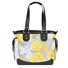 JJ Cole Boutique Diaper Bag - NORAH Bag - Honey Lotus