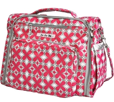 Ju Ju Be BFF Diaper Bag - Pink Pinwheels