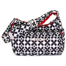 Ju Ju Be Hobobe Diaper Bag - Crimson Kaleidoscope