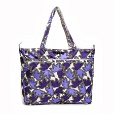Ju Ju Be Super Be Diaper Bag - Lilac Lace