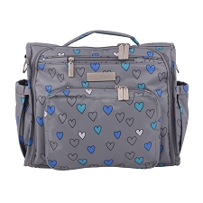 Ju Ju Be BFF Diaper Bag - Rad Hearts