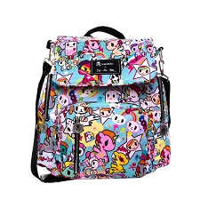 Ju Ju Be Be Sporty Diaper Bag - Tokidoki Unikiki 2.0
