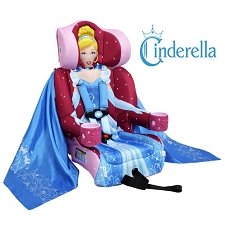 KidsEmbrace Friendship Combination Booster Car Seat - Cinderella
