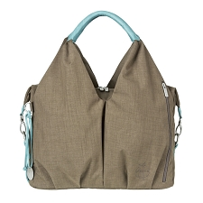 Lassig Green Label Neckline Diaper Bag - Taupe