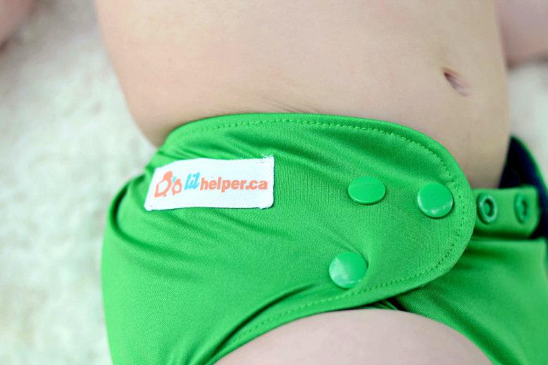 Lil Helper Bamboo Cloth Diaper Canada