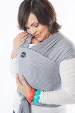 MOBY Wrap Designs - Denim Stripes