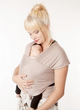 MOBY Wrap Evolution Bamboo - Blush
