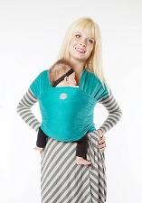 MOBY Wrap Evolution Bamboo - Teal