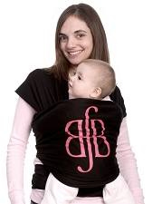 MOBY Wrap Designs - Best for Babes Black