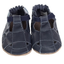 Robeez Soft Soles - Fisherman Sandal Navy