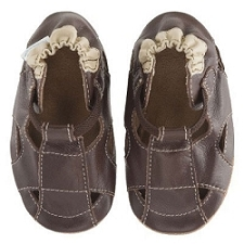 Robeez Soft Soles - Fisherman Sandal Brown