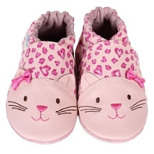 Robeez Soft Soles - 3D Kitty