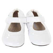 Robeez Mini Shoez - Gracie White