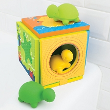 Skip Hop Turtle Island Folding Bath Playset