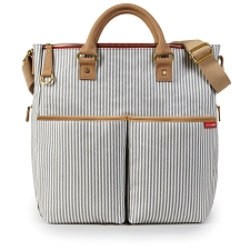 Skip Hop Duo Special Edition Diaper Bag - French Stripe