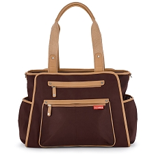 Skip Hop Grand Central Take-It-All Diaper Bag - Chocolate