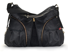 Skip Hop Versa Diaper Bag - Black