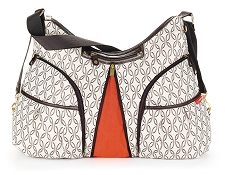 Skip Hop Versa Diaper Bag - Cream Links