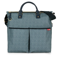 Skip Hop Duo Special Edition Diaper Bag - Blue Pinpoint