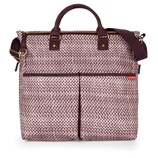 Skip Hop Duo Special Edition Diaper Bag - Plum Sketch