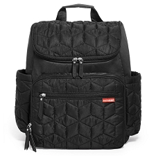 Skip Hop Forma Diaper Backpack - Black