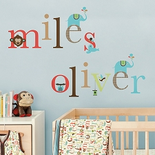 Skip Hop Wall Decals - Alphabet Zoo