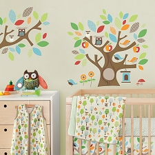 Skip Hop Wall Decals - Treetop Friends