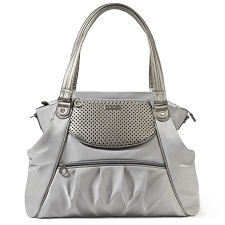 Skip Hop Studio Select Day-to-Night Diaper Satchel - Pewter
