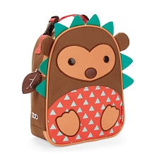 Skip Hop Zoo Lunchies Insulated Lunch Bags - Hedgehog