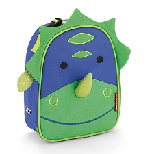 Skip Hop Zoo Lunchies Insulated Lunch Bags - Dinosaur