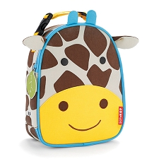 Skip Hop Zoo Lunchies Insulated Lunch Bags - Giraffe