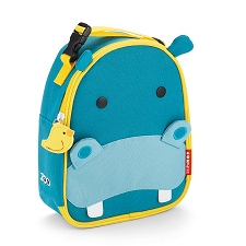 Skip Hop Zoo Lunchies Insulated Lunch Bags - Hippo