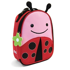 Skip Hop Zoo Lunchies Insulated Lunch Bags - LadyBug