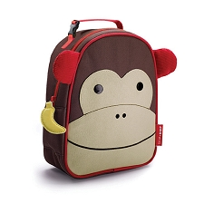 Skip Hop Zoo Lunchies Insulated Lunch Bags - Monkey