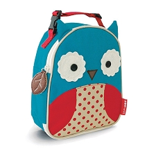 Skip Hop Zoo Lunchies Insulated Lunch Bags - Owl