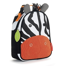 Skip Hop Zoo Lunchies Insulated Lunch Bags - Zebra