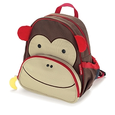 Skip Hop Zoo Little Kid Backpacks - Monkey