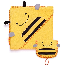 Skip Hop Zoo Towel / Mitt Set - Bee