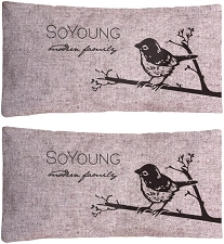 SoYoung Pink Birds Small Ice Pack (Set of Two)