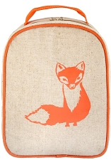 SoYoung Matching Lunch Box to Toddler Backpack - Orange Fox