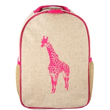 SoYoung Toddler Backpack - Pink Giraffe