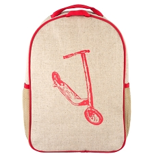 SoYoung Toddler Backpack - Red Kick Scooter