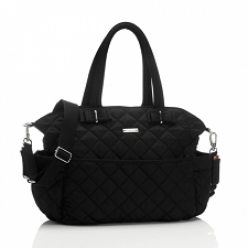 StorkSak Bobby Diaper Bag - Black