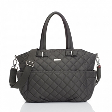 StorkSak Bobby Diaper Bag - Charcoal