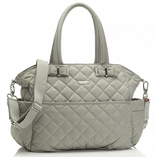 StorkSak Bobby Diaper Bag - Putty