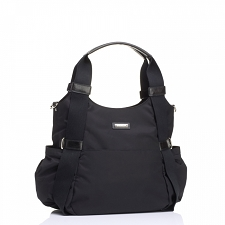 StorkSak Tania Bee Diaper Bag - Black