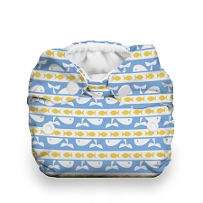 Thirsties Newborn All in One Cloth Diaper - Snap