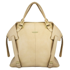 Timi & Leslie Charlie 7-Piece Diaper Bag Set - Light Brown